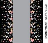 gray vertical design with...   Shutterstock . vector #566971360