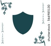 shield icon   Shutterstock .eps vector #566985130