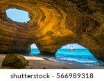Wonderful View Of Benagil Cave...