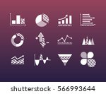 icons for operational data... | Shutterstock .eps vector #566993644