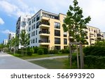 modern housing in munich | Shutterstock . vector #566993920