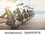 modern gym interior with