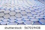 3d illustration of graphene... | Shutterstock . vector #567019438