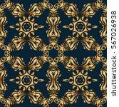 seamless oriental ornament in...   Shutterstock .eps vector #567026938