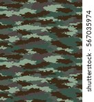 fashionable camouflage pattern  ... | Shutterstock .eps vector #567035974