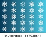 snowflake vector icon... | Shutterstock .eps vector #567038644