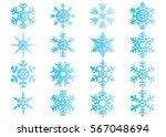 snowflake vector icon... | Shutterstock .eps vector #567048694