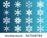 snowflake vector icon... | Shutterstock .eps vector #567048784