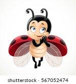 Flirtatious Fly Little Ladybug...