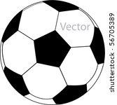 vector football | Shutterstock .eps vector #56705389