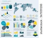 infographics elements... | Shutterstock .eps vector #567059200