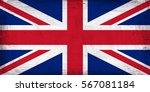 Grunge Flag Of Great Britain.