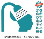 open mind shower pictograph... | Shutterstock .eps vector #567099403