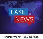 fake news | Shutterstock .eps vector #567100138