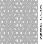 seamless geometric line pattern ... | Shutterstock .eps vector #567105298