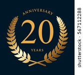 Golden Wreath Badge   20 Years...