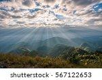 Sunrise Over The Mountain...