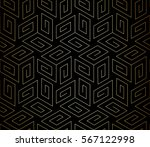 abstract geometric pattern with ... | Shutterstock .eps vector #567122998
