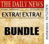 bundle  newspaper article text