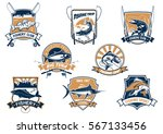 fishing sport and industry...   Shutterstock .eps vector #567133456