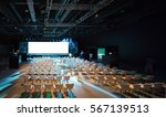 super conference hall with... | Shutterstock . vector #567139513