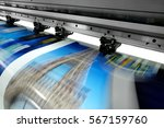 large printer format inkjet... | Shutterstock . vector #567159760
