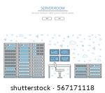 vector high tech internet data... | Shutterstock .eps vector #567171118