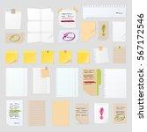 Sticker Notes Vector Set  Post...