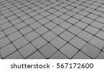 white tile floor clean... | Shutterstock . vector #567172600