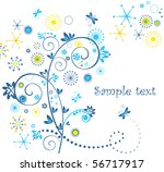 funny greeting card | Shutterstock .eps vector #56717917