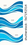 set marine pattern with... | Shutterstock .eps vector #567192514