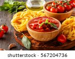 products for cooking   tomato... | Shutterstock . vector #567204736