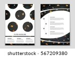 abstract vector layout... | Shutterstock .eps vector #567209380