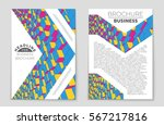 abstract vector layout... | Shutterstock .eps vector #567217816