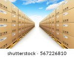shipment logistics  delivery... | Shutterstock . vector #567226810