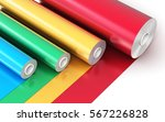 creative abstract 3d render... | Shutterstock . vector #567226828