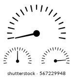 speedometer icon   stock vector. | Shutterstock .eps vector #567229948