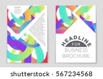 abstract vector layout... | Shutterstock .eps vector #567234568
