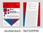 abstract vector layout... | Shutterstock .eps vector #567235996