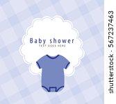 baby shower | Shutterstock .eps vector #567237463