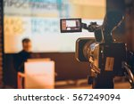 filming creative video footage... | Shutterstock . vector #567249094