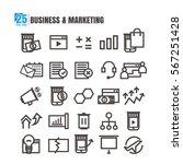 icon business marketing finance ...