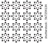 vector seamless pattern. modern ... | Shutterstock .eps vector #567254134