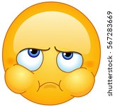 disappointed  nervous  angry ... | Shutterstock .eps vector #567283669