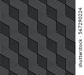 black and gray pattern... | Shutterstock .eps vector #567290224