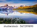 great view of bernese range... | Shutterstock . vector #567299890