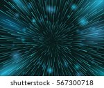 speed stars in space vector... | Shutterstock .eps vector #567300718