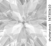 abstract futuristic grey... | Shutterstock .eps vector #567303610