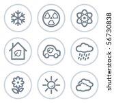 ecology web icons set 2  white...