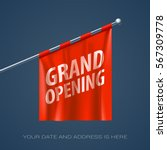 grand opening vector... | Shutterstock .eps vector #567309778